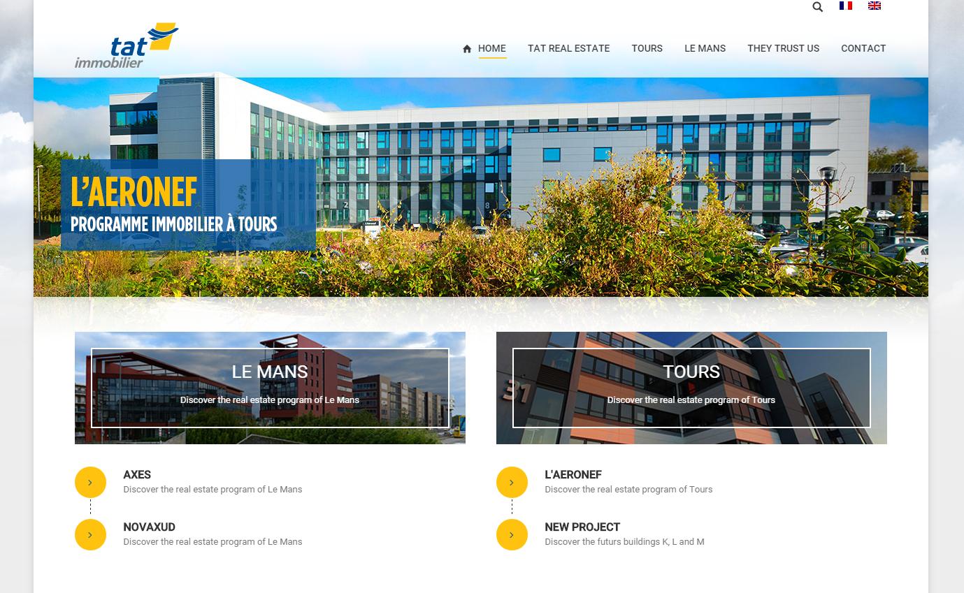 Nouveau site internet tat immobilier for Immobilier site