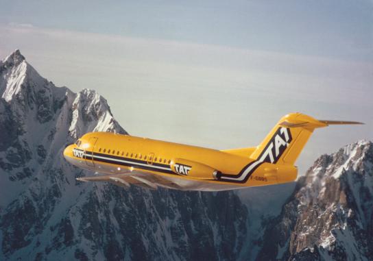 Fokker 28, 1991